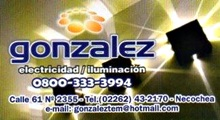 Gonzalez - Electricidad e Iluminacíon