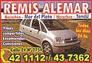 Remis Alemar a Tandil y Mar del Plata